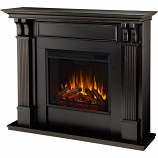 Real Flame 7100E-BW Ashley Electric Fireplace - Black Wash