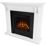 Real Flame 7100E-W Ashley Electric Fireplace - White