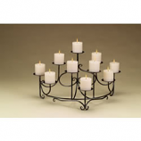 Spandrels Candelabra, Candles Not Included