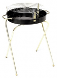 Marsh Allen Folding Round Charcoal Grill - 18""