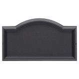 Design-it 4 Arch Plaque Black By Whitehall Products