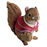 Grandmother Squirrel Statue By Design Toscano