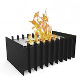 Regal Flame GRT1015 PRO 12in Ethanol Fireplace Grate Burner Insert - 1.5Liter