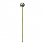 Set of 6 Rome Small Garden Lollipop - Stainless Steel