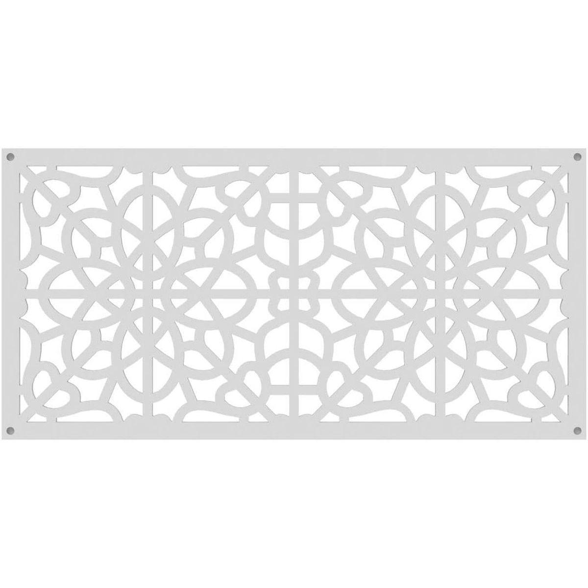 RDI 73004785 Fretwork Decorative Screen Panels - White