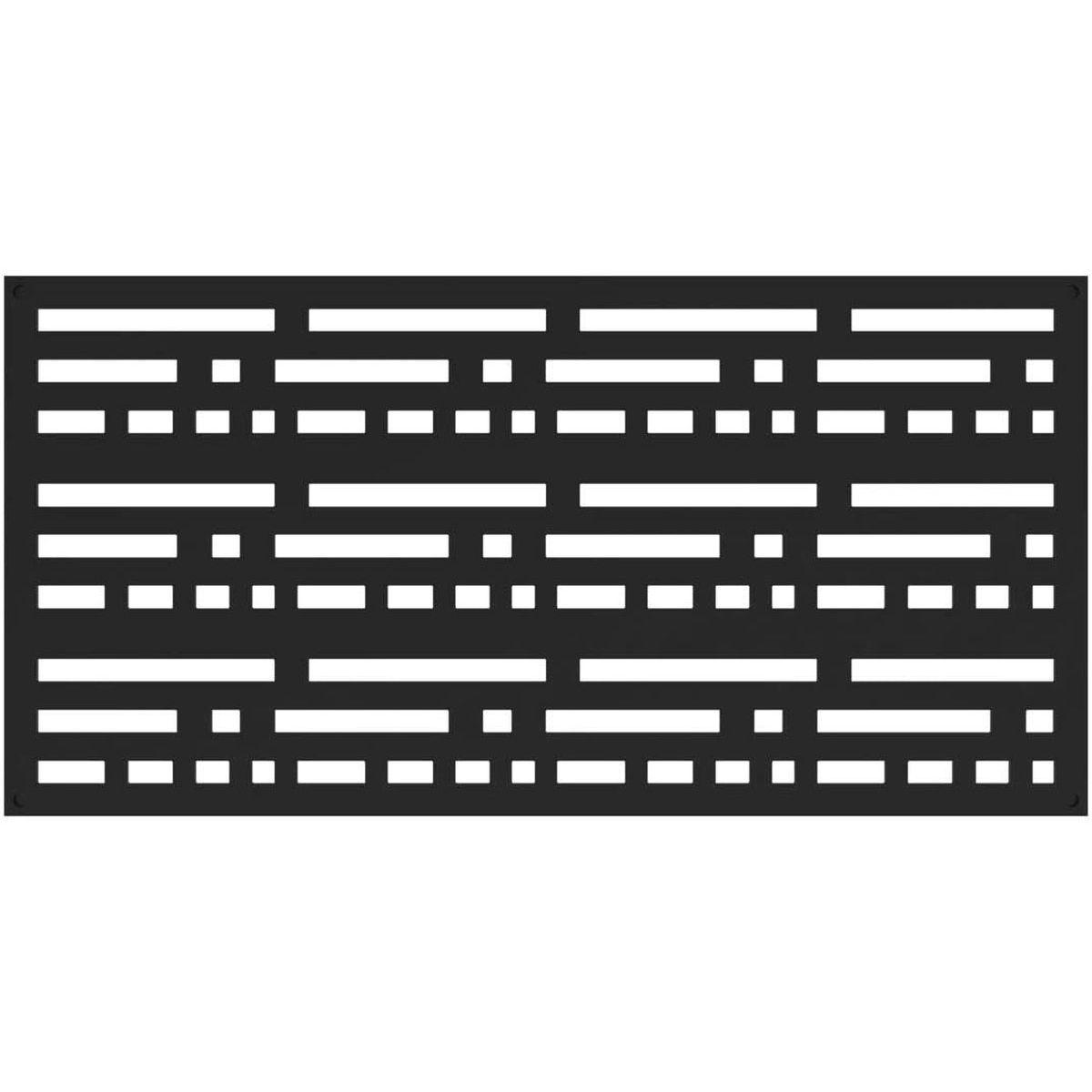 RDI 73004796 Morse Decorative Screen Panels - Black