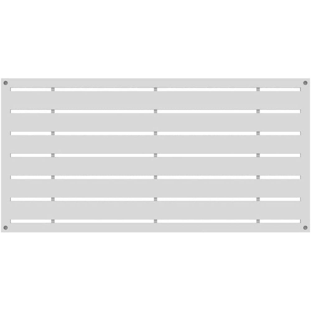 RDI 73042821 Boardwalk Decorative Screen Panels - White