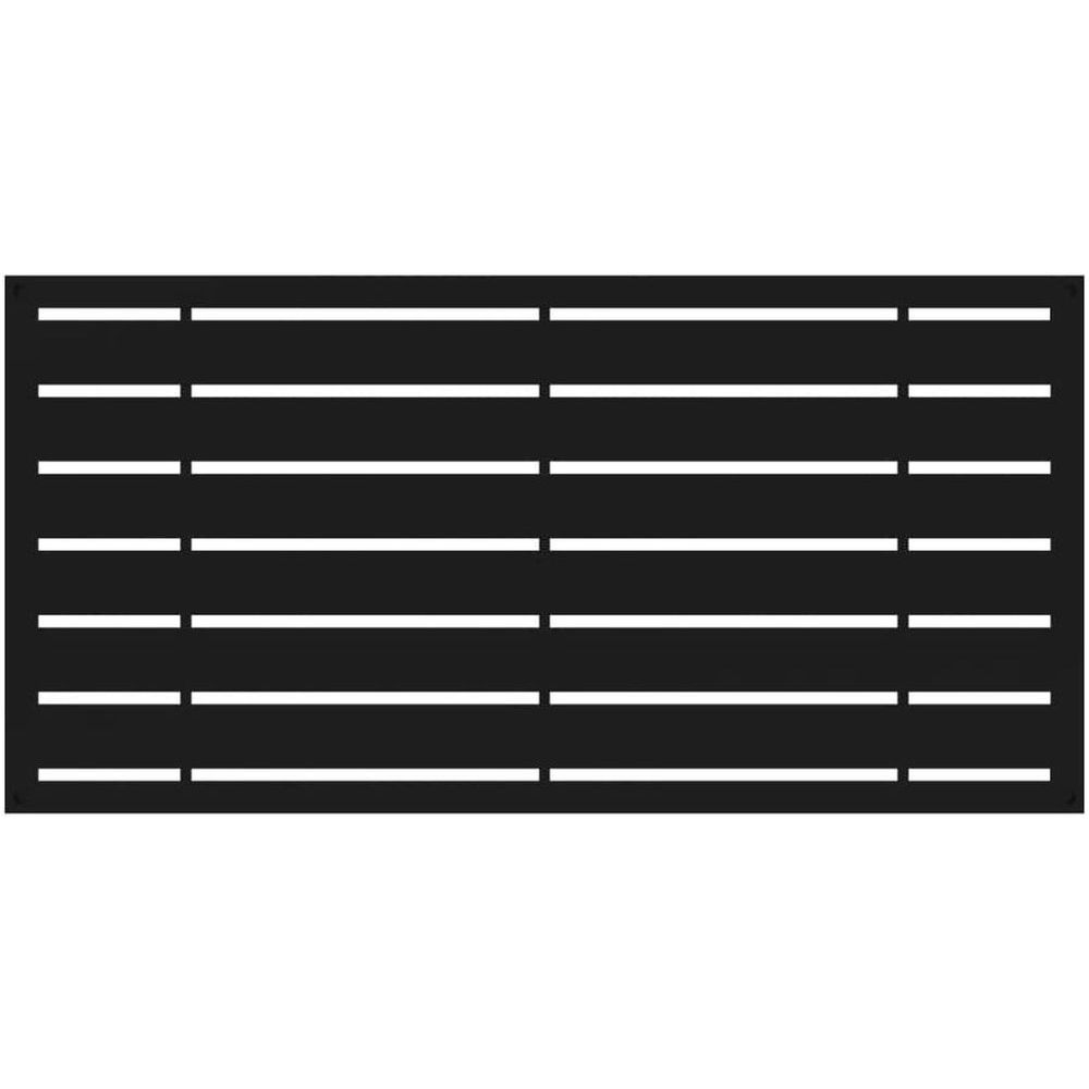 RDI 73042822 Boardwalk Decorative Screen Panels - Black