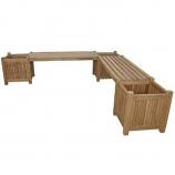 Planter Bench (2 bench + 3 planter box)