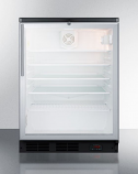 Summit SCR600BGLBIDTPUBHV Built-In Craft Beer and Wine Refrigerator