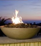 "40"" Marseille Fire Bowl in Sedona Finish with AWEIS System - NG"