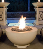 "48"" Fire Bowl in Sedona Finish with AWEIS System - Natural Gas"