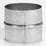 "Aluminum 6"" Flex Coupler for Flexi-liner"
