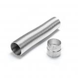 "Aluminum 4"" x 10' Selkirk Gas Relining Flexi-Liner Extension Kit"