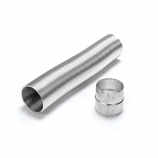 "Aluminum 5"" x 10' Selkirk Gas Relining Flexi-Liner Extension Kit"