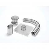 "Aluminum 4"" x 35' Selkirk Gas Relining Flexi-Liner Kit"