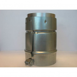 "Aluminum 4"" B-Vent Adaptor for Flexi-Liner"