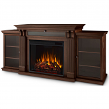 Real Flame 7720E-DE Calie Entertainment Electric Fireplace - Dark Espresso