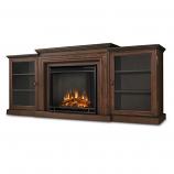 Chestnut Oak Frederick Electric Fireplace & Entertainment Unit
