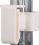 Dare 2334-25 W 25pack T-Post Tape insulator - White