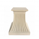 Fluted Pedestal TB-2428 By Anderson Teak