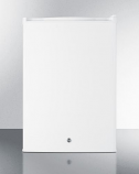Countertop Refrigerator in White with Digital Thermostat