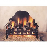 """Real Fyre 18"""" Coal Grate with Stone for Low Gas Pressure Areas"""