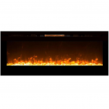 Regal Flame LW2060CC Astoria 60in Wall Mounted Electric Fireplace - Crystal