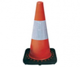 Safety Cone with Reflective Tape Model S04G 750118