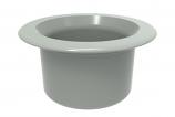 Color Match RPTC-03 Retrofit Pebble Top Pole Holder Cap and Plug - Light Gray