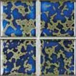 Master Tile MASHM313 3inx3in Harmony 300 Terra Blue Pool Tile - 20 Sheets
