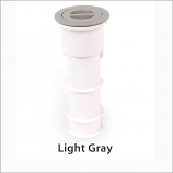 Color Match PH-03 7in Standard Pole Holder Assembly - Light Gray