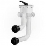 Waterway WVD002 Multi-Port Valve with Union Connections 2-Inch Socket