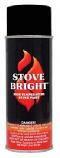 Stove Bright1200 Degree High Temp Paint - Metallic Black