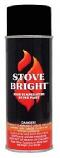 Stove Bright 1200 Degree High Temp Paint - Flat Black