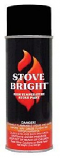 Stove Bright 1200 Degree High Temp Paint - Simpson DuraVent Black