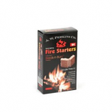 Aw Perkins Fire Starters - 24 Squares Per Box