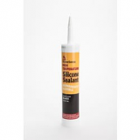 Homesaver 10.3 Oz. Cartridge High Temperature Silicone Sealant - Black
