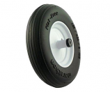 Flat-Free Ribbed Tread Wheelbarrow Tire