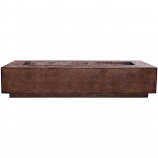 Prism Hardscapes Tavola 6 Fire Table in Cafe - LP