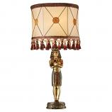 King Tutankhamen's Sculptural Table Lamp