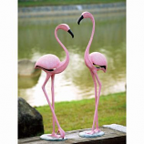 Pink Flamingo Pair 33349 By Spi Home