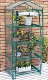 Four Tier Mini Greenhouse 69x49x157cm