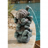 Stacked Turtles Piped Statue By Design Toscano