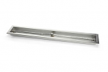"36"" Natural Gas Linear Trough Pan with T-Burner, Match Lit Ignition"
