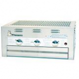 Built-In Grill with 3 Burners and Roll-Top Hood - LP