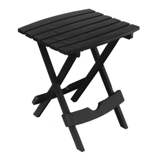 Quik-Fold Side Table in Black