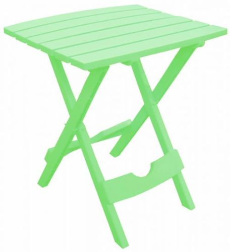 Quik-Fold Side Table in Summer Green