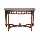 Neoclassical Demilune Console By Anderson