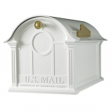 Balmoral Mailbox - White By Whitehall Products